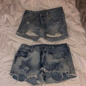 Set of 2 American Eagle Jean Shorts